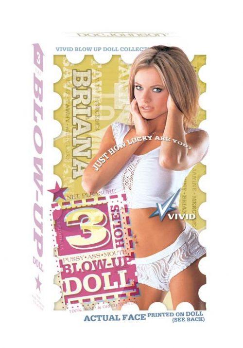 Vivid - Love Doll 3 Holes - Briana