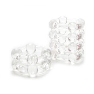Buck Shot Toys Silicone Rings - Clear