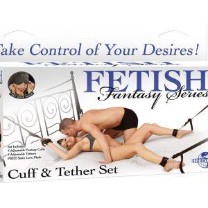 Fetish Fantasy Cuff & Tether Set