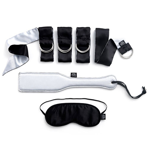 Fifty Shades - Submit to Me Beginners Bondage Kit-6361