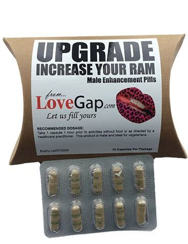 UPGRADE Male Enhancer Increase your RAM 10-pack