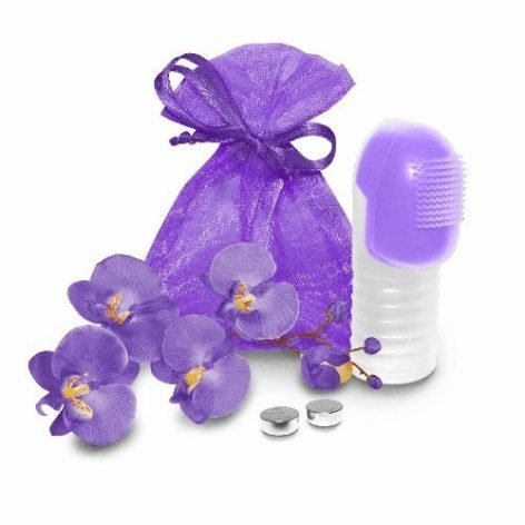 Fuzu 6000 Fingertip Massager - Neon Purple-0