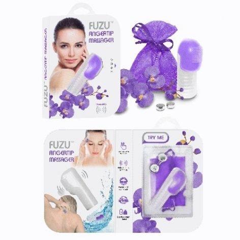 Fuzu 6000 Fingertip Massager - Neon Purple-6694