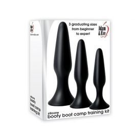 SILICONE BOOTY BOOT CAMP TRAINING KIT BLACK-0