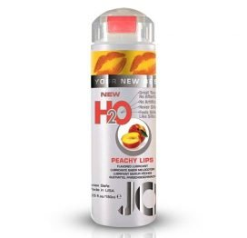 JO H20 Flavored Lubricant Peachy Lips 5.25oz.-0