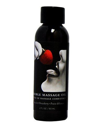 Edible Massage Oil 2oz. **Strawberry-0