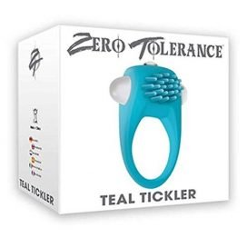 Zero Tolerance - TEAL TICKLER Cock Ring
